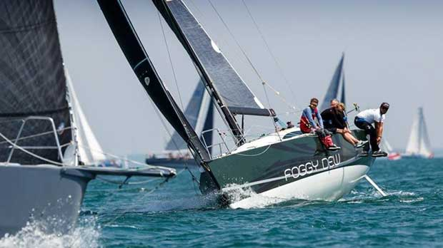 RORC Cowes Dinard St Malo Race - photo © RORC / Paul Wyeth