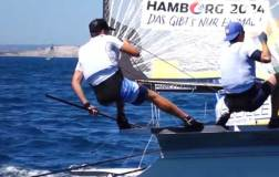 49er, 49erFX & Nacra 17 Junior World Championships at Marseille - Day 1
