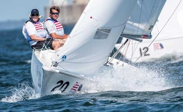 Miles Martschink sailing in 2016 - photo © Paul Todd / www.outsideimages.co.nz