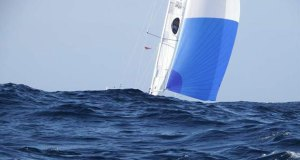 Mark Slats' Rustler 36 Ophen Maverick under spinnaker. - photo © Tapio Lehtinen / PPL / GGR