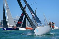 50fters- Start - PIC Coastal Classic - October 19, - photo © Richard Gladwell