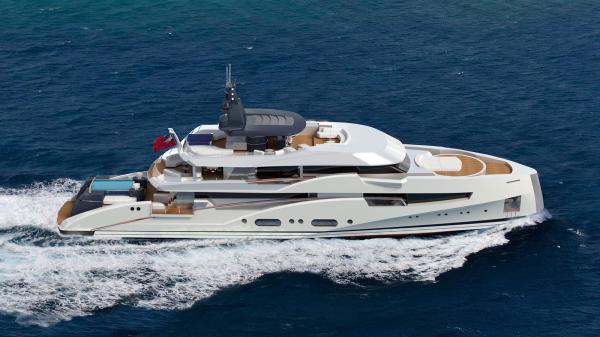 Frank Neubelt Design 46m Project Bilgin Yachts - Yacht Harbour