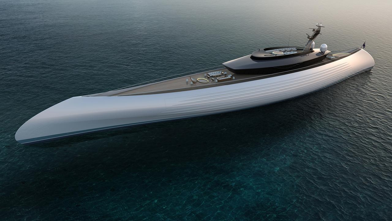115 Metre Superyacht Concept Tuhara Yacht Harbour