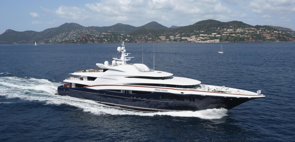 75m Anastasia Sold In Fleet Turnover Yacht Harbour