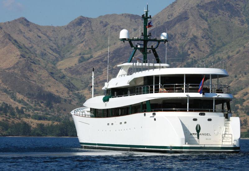 Motor Yacht Ark Angel Mitsubishi Heavy Industries