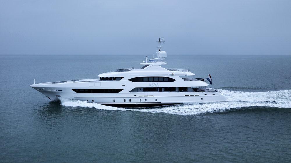 Motor Yacht Asya Heesen Yacht Harbour