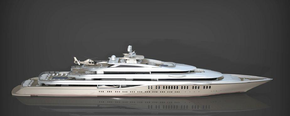 Motor Yacht SSH Maritime 115 Classic Yacht Harbour