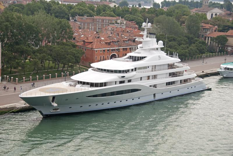 Motor Yacht Mayan Queen IV Blohm Voss Yacht Harbour