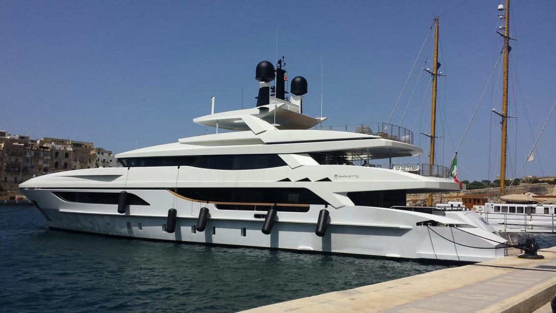 Motor Yacht Mr T Baglietto Yacht Harbour
