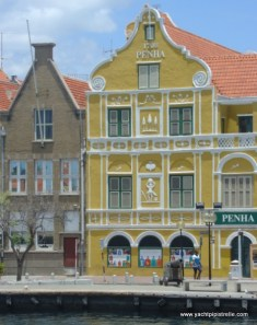 Willemstad - Dutch Colonial Buildings on the Handels Kade