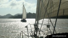 Sailing on Lake Gatun