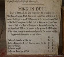Description of the famous Mingun Bell