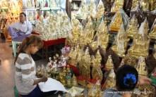 checking bulk buddha order before packing and shipping -