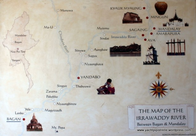 from Mandalay to Bagan via Yandabo
