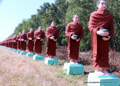 avenue of monks