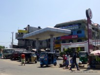 Fuel station in town - jerry cans filled here!