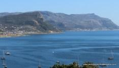 False Bay with Pipistrelle bottom left
