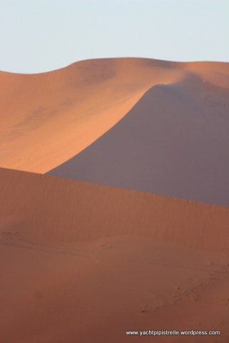 Red sand dunes at Sossusvlei