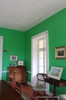 Room in house where Napoleon spent first 3 months after landing in St Helena