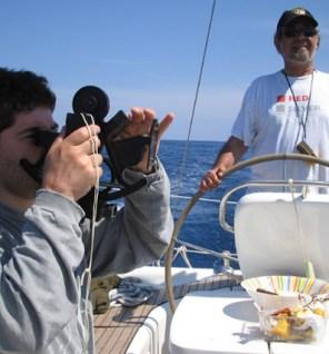Prácticas de navegación Capitán de Yate