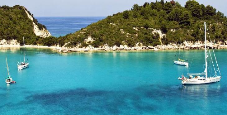 Grecia en velero