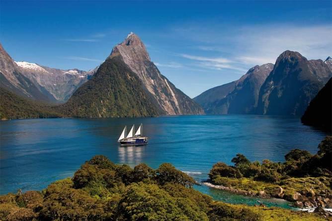 navegar en vela por Nueva Zelanda
