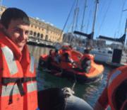 formación marítima contra incendios