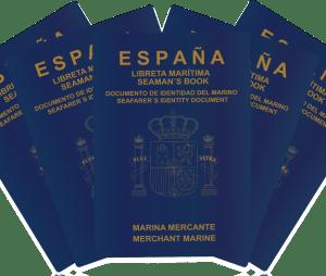 expedicion del pasaporte o libreta maritima