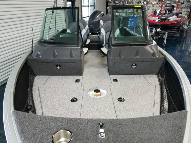 2016 Alumacraft Voyager 175 LE With Yamaha 115 HP Bimini