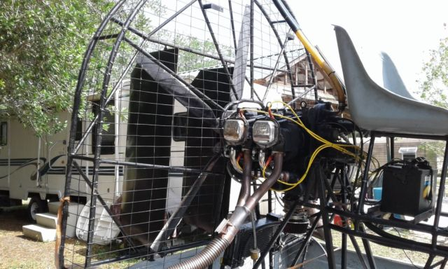 Airboat Lycoming 0320 12 Fiberglass Hull 5 Blade Warp Drive For Sale In Okeechobee Florida