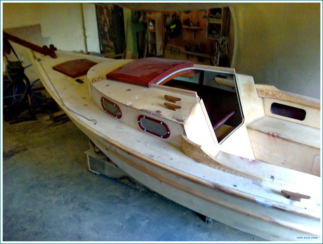 Фото лодка из фанеры чертежи