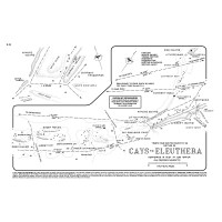 Cays To Eleuthera Chart #E-24 - Yachtsman's Guide