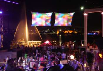 Halikarnas night club Bodrum Turkey