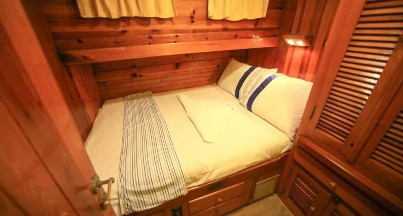 luxury gulet cabin example