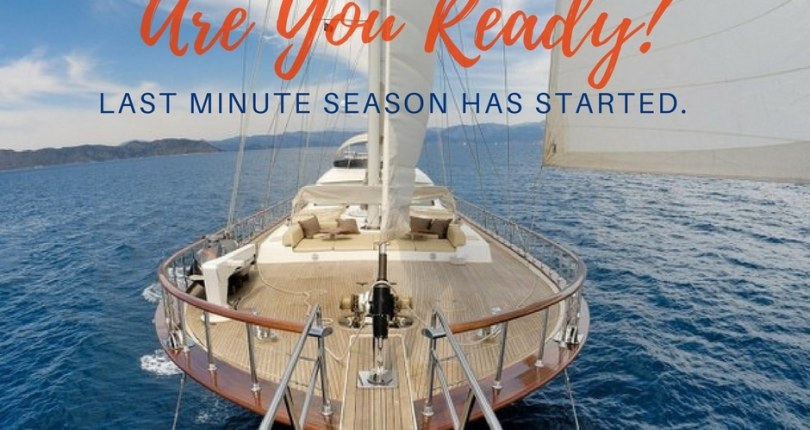Gulet Charter Last Minute Season has Now Started