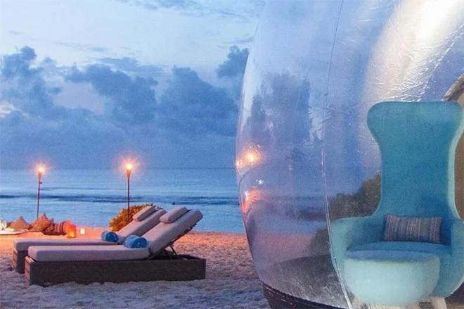 Beach Bubble Tents
