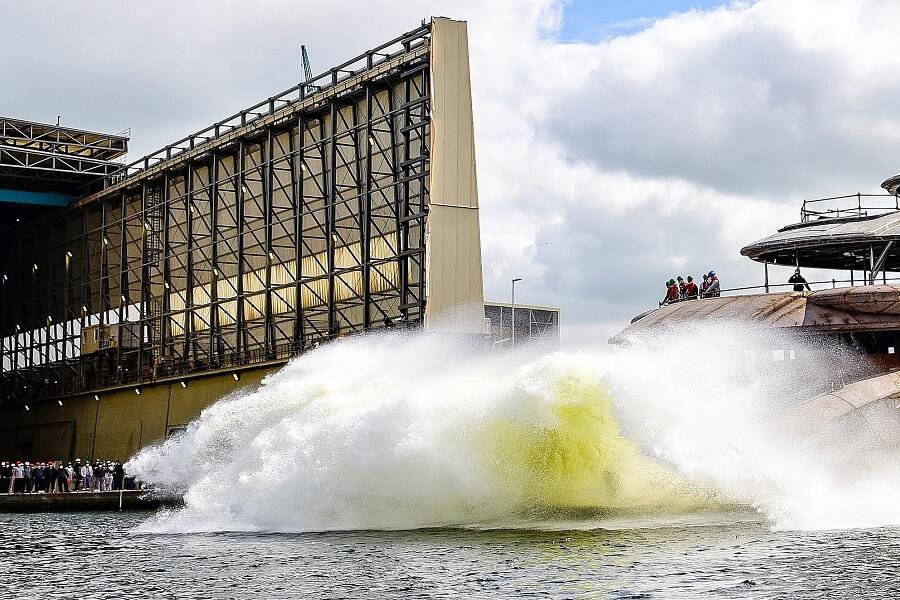 Lürssen, JAG, Project, Launch, Superyacht