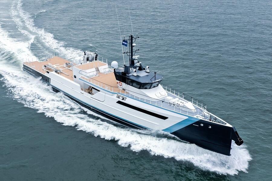 Damen Yachting, Yacht Support, Time Off, Gene Chaser, Gene Machine, Yacht, Superyacht