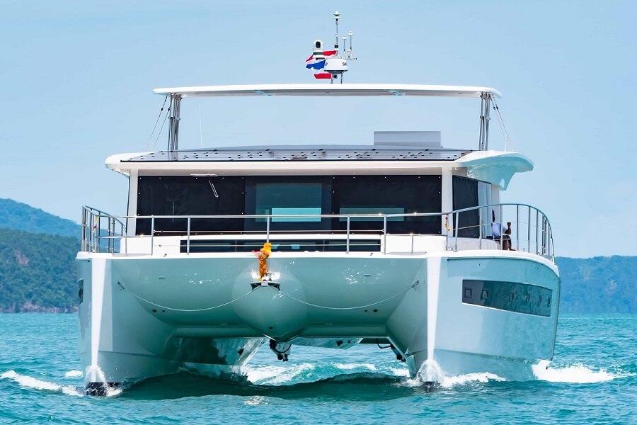 Silent, Yachts, Catamarans, Solar, Power, Electric, Quiet, Clean, Green