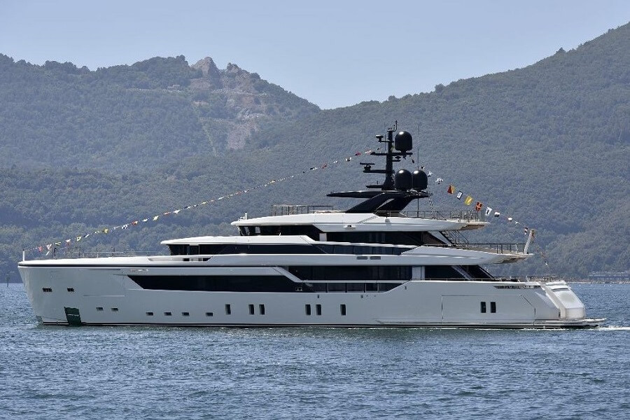 Sanlorenzo, Alloy 52Steel, superyacht, launch, La Spezia