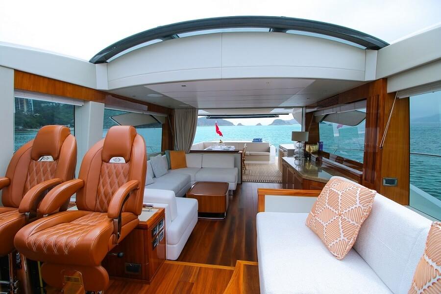 Asiamarine, charter, yacht, Hong Kong, Sunseeker, Predator 74, Lady Lorraine, Numarine, Galeon, Leopard 48