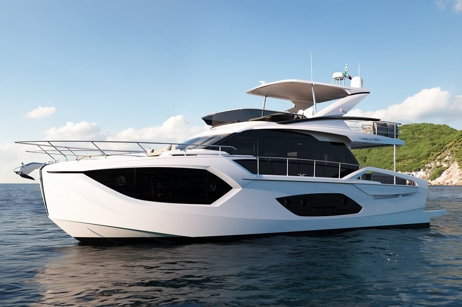 Absolute, Yachts, Italy, 56 Fly, 60 Fly, 48 Coupe, Cannes Yachting Festival, debut, premiere