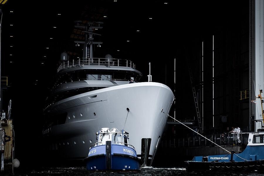 Amels, 78, Custom, Espen Oeino, Launch, unveil, Vlissingen