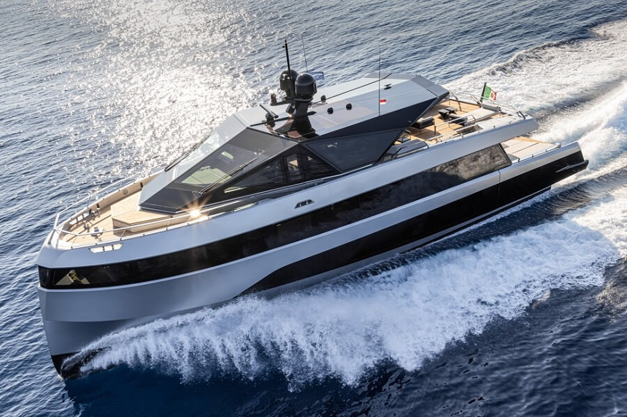 Wally, WHY200, 200GT, beam, Luca Bassani, Cannes Yachting Festival, volume