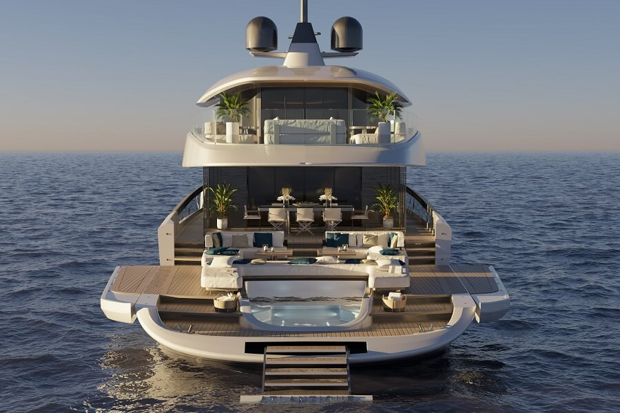 Columbus, Yachts, Italy, Atlantique, 43, second, sale, sold, Asia Hong Kong, superyacht, 2023