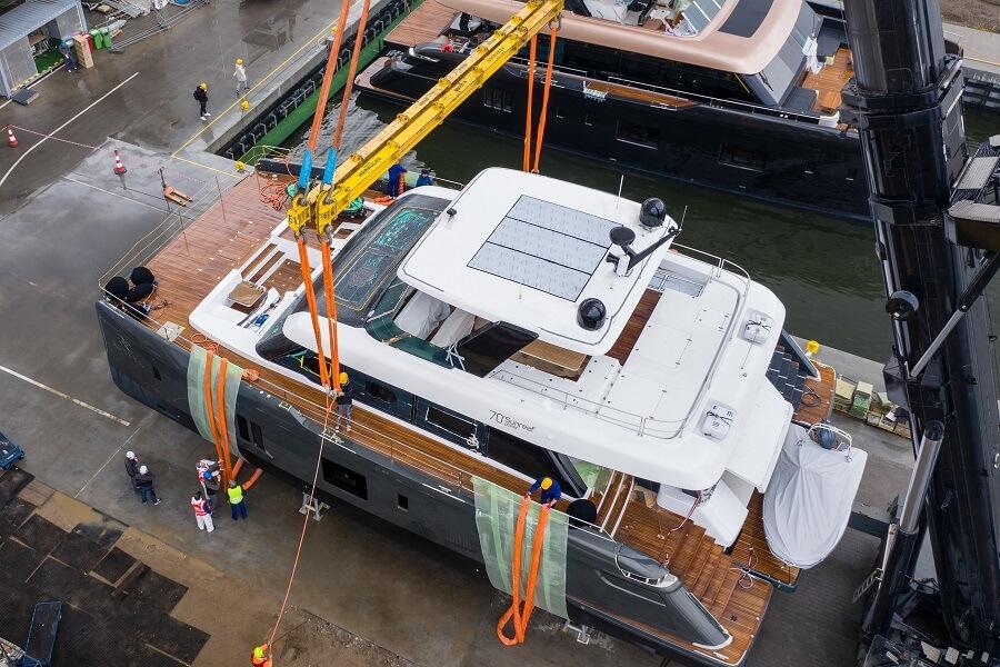 Sunreef, Yachts, launch, 70, Power, 100, 80, 60, catamaran, Gdansk