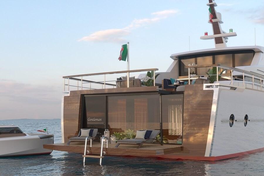 Camper & Nicholsons, Carmen Lau, Codecasa, Gentleman's Yacht, Asia, owner, sold, Luca Dini