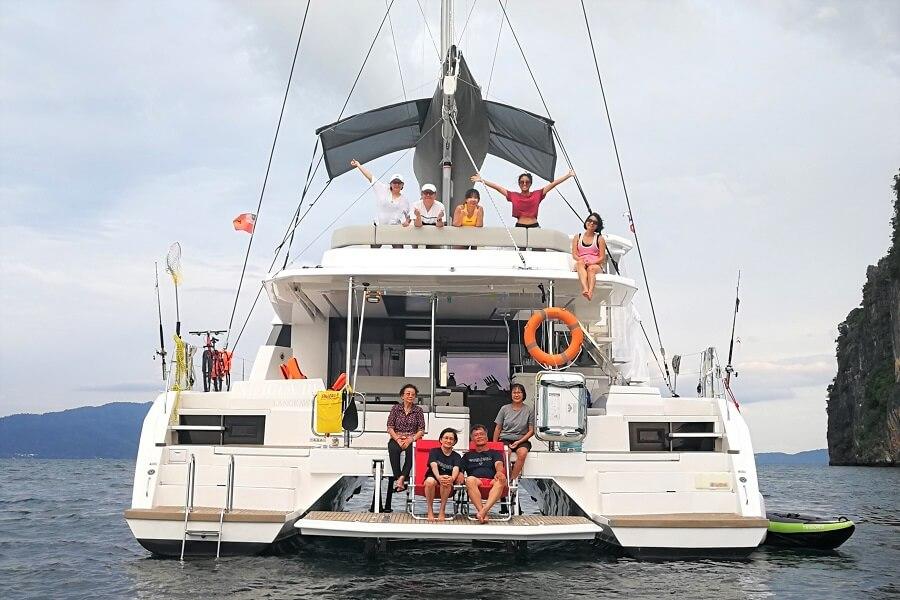 Leopard 50, sailing, catamaran, TC Wong, Wong Tet Choong, Minqi Wong, Ximula, Sail, Fiji, Tuvalu, Singapore, Indonesia, Port Denarau Marina