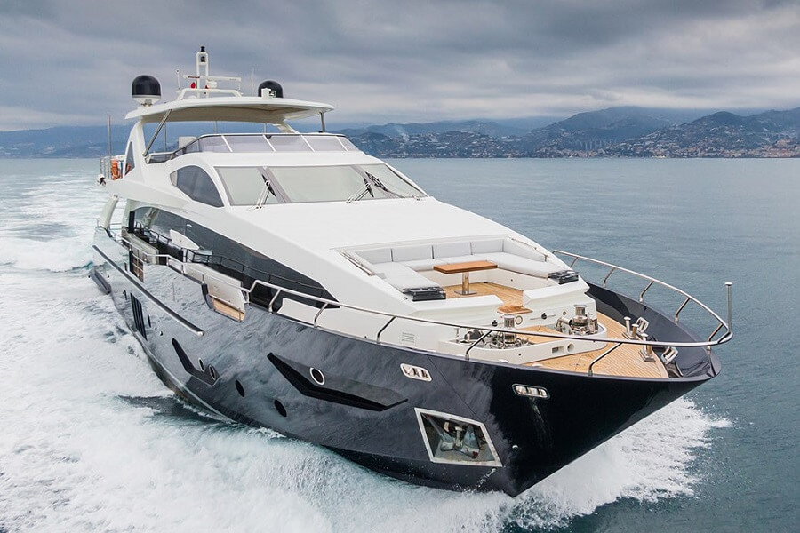 Fraser, sale, Solstice, Adam Blackmore, Alex Krykanyuk, Monaco, Hong Kong, Yacht, Azimut, 95 RPH