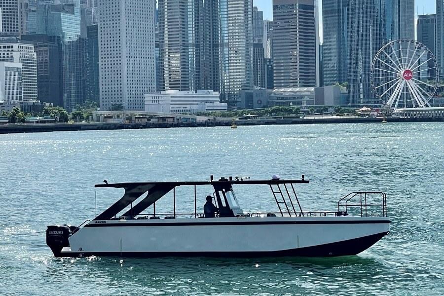 Kingship, Marine, Delta Marina, Hong Kong, taxi, Express Ferry, Bart Kimman, mooring, Hei Ling Chau, Lantau, Island, berth